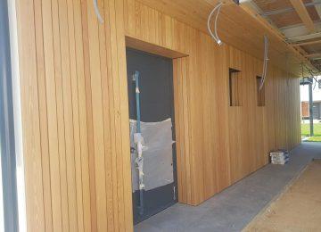 Lesene fasade 2